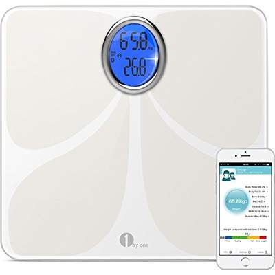 one by one digital body fat scale